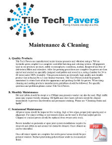 Pavers Maintenance & Cleaing